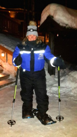 snowshoeing-a